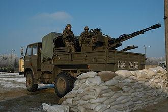 ZU-23-2 - Star 266 mounted ZUR-23-2KG gun
