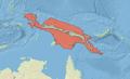 Hieraaetus morphnoides ssp weiskei distribution map.png