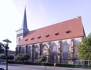 St. Lamberti, Hildesheim Church in Lower Saxony, Germany