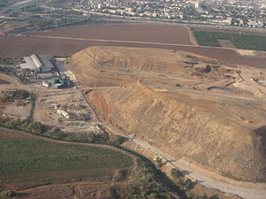 Ariel Sharon Park - Hiriya from above