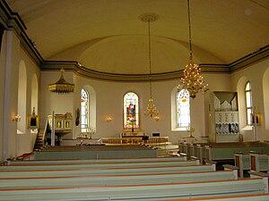 Hjo Church - Inside Hjo Church