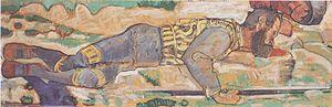 Hodler - Sterbender Krieger - 1897-98