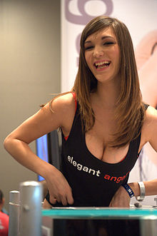 Holly Michaels at AVN Adult Entertainment Expo 2012 1.jpg