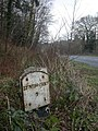 Holmsley, milepost - geograph.org.uk - 1139579.jpg