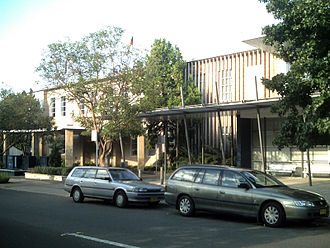 Cumberland Council, New South Wales - The Holroyd Administration Centre in Merrylands, now the Cumberland Council seat, was the Holroyd seat from 1962.