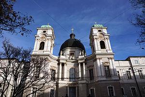 Holy Trinity Church, Salzburg - Image: Holy Trinity Church Salzburg