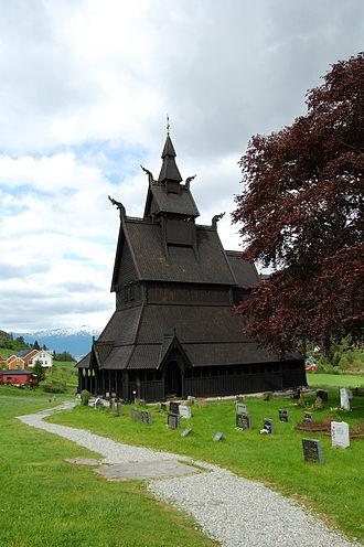 Hopperstad Stave Church - Image: Hopperstad stave church 2009