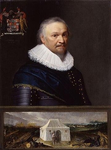 Horace Vere, Baron Vere of Tilbury by Michiel Jansz. van Miereveldt