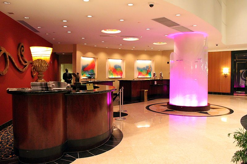 File:Hotel Front Desk JW Marriott Hotel New Orleans 2012.jpg