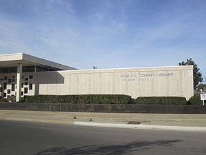 Howard County, Texas - Howard County Library in Big Spring