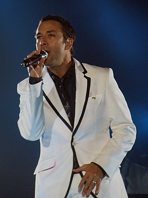 Howie D. - Dorough at a NKOTBSB show in Newcastle Arena, 2012