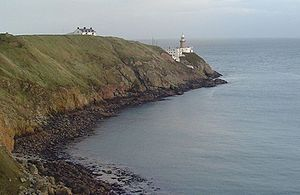 George Halpin - The Baily light, designed by George Halpin, on Howth Head.