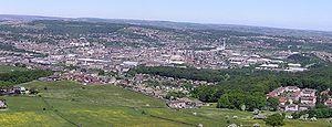 Huddersfield - Huddersfield, viewed from Castle Hill