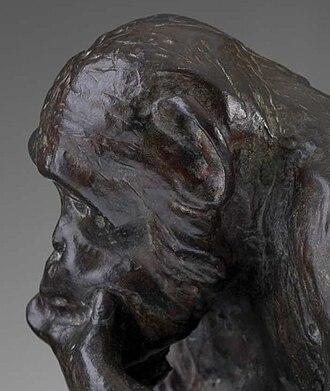 Affe mit Schädel - Image: Hugo Rheinhold Ape With Skull.Darwin Monkey.4