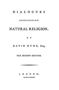 Dialogues Concerning Natural Religion cover