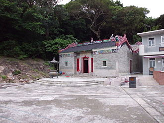 Kau Sai Chau - Hung Shing Temple at Kai Sai Chau.