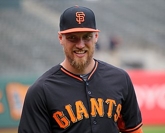 Hunter Pence - Hunter Pence with the Giants in 2015