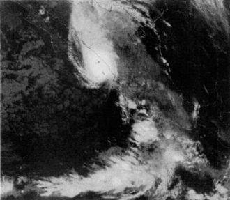 Hurricane Tico - Hurricane Tico near Mexican landfall