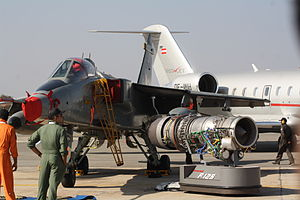 Honeywell/ITEC F124 - Honeywell's F125 engine for IAF Jaguar at Aero India 2013