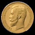 INC-33-a Два с половиной империала — двадцать пять рублей золотом 1908 г. (аверс).png