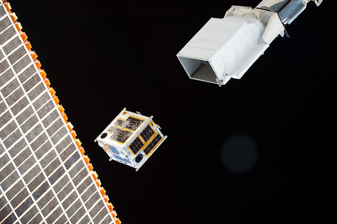 File Iss 47 Diwata 1 Satellite Deployment Jpg Wikimedia
