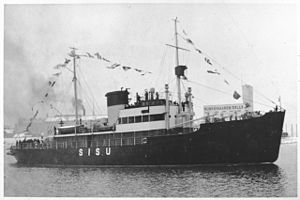 Sisu (1938 icebreaker) - Image: Icebreaker Sisu 001