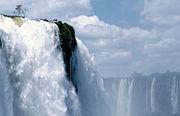 The Iguazu Falls with its Subtropical climate.