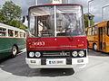 Ikarus 255 Bus 3683 EST Number 925 BMV Front View Vabaduse Square Tallinn 3 June 2015.JPG