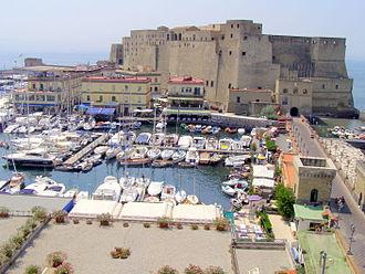 Castel dell'Ovo - Castel dell'Ovo from the north