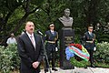 Ilham Aliyev visited a memorial of the Hero of the Soviet Union, Mehdi Huseynzadeh, in the Slovenian town of Nova Gorica 8.jpg