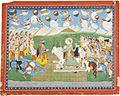 Illustration to a Mahabharata series, In the manner of Purkhu, Kangra, circa 1815-20.jpg