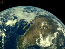 File:Images of the Earth captured by Chandrayaan-2 Vikram Lander camera LI4.webm