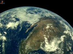 File:Images of the Earth captured by Chandrayaan-2 Vikram Lander camera LI4.webm