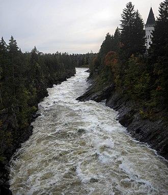 Imatra - Imatrankoski rapids, September 20th 2012