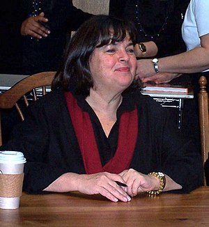 Ina Garten at a book signing in Chapel Hill, NC