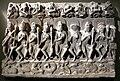 India centro-settentrionale, saptamatrika danzanti, XI sec 01.JPG
