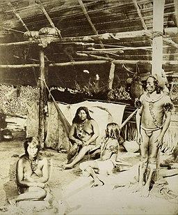 familia tipica de la cultura del amazonas