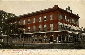 National Register of Historic Places listings in Lincoln County, Mississippi - Image: Inez Hotel Brookhaven