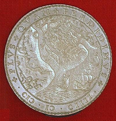 Inname van Sluis en het verlaten van Oostende, 1604 door Van den Vogelaer