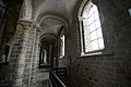 Inside of the Benedictine abbey - Mont St Michel (32543187310).jpg