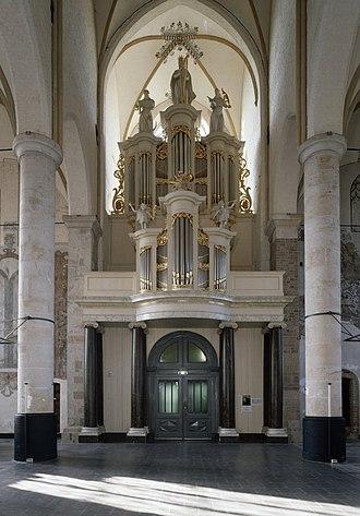 St Nicholas Church, Deventer - Organ in 2002