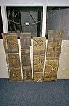 interieur, beschilderde planken, afkomstig van oud plafond - boxmeer - 20001088 - rce