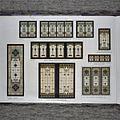 Interieur, bladzijde modellenboek Glasfabriek J.J.B.J. Bouvy, collectie bibliotheek Rijksmuseum - Unknown - 20366020 - RCE.jpg