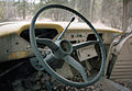 Interior of old truck near Mendenhall, Yukon (14326841295).jpg