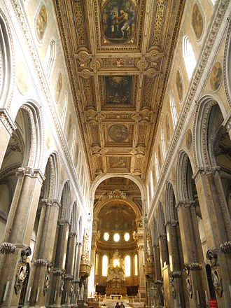 Naples Cathedral - Interior