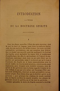 <i>The Spirits Book</i> book by Allan Kardec