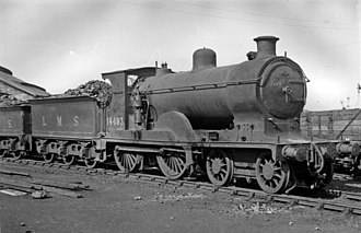 Caledonian Railway 72 Class - '72' class No. 14493 at Inverness Depot in 1948