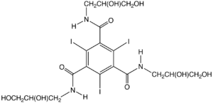 Organoiodine compound - Image: Iodoversol