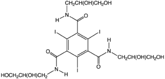 Organoiodine compound - Image: Iodoversol