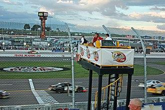 Iowa Speedway - Flagstand